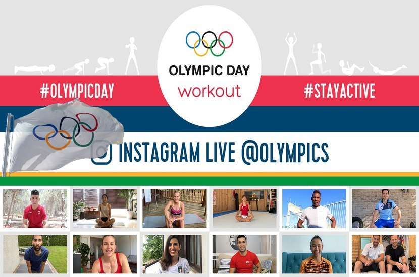 It's Olympic Day