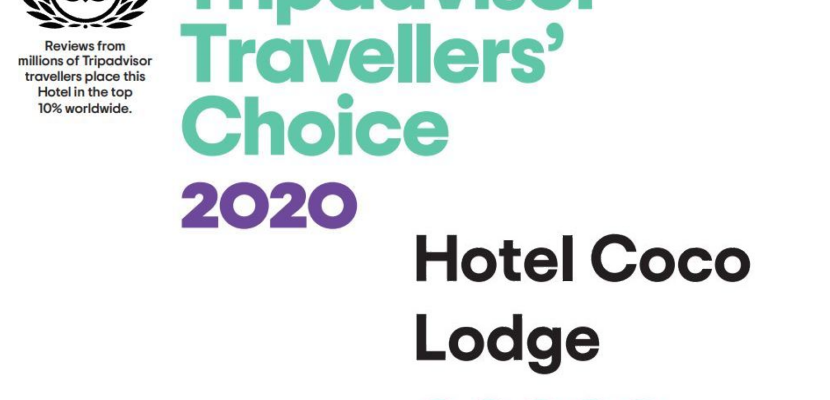 Coco Lodge Majunga distingué par Tripadvisor