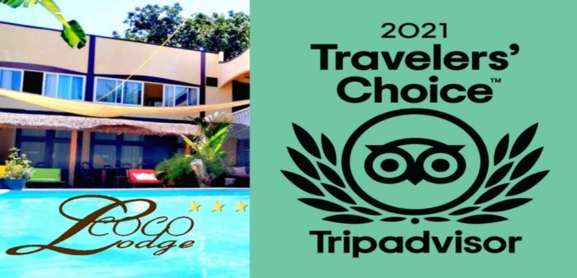 Travellers' Choice 2021 pour Coco Lodge Majunga